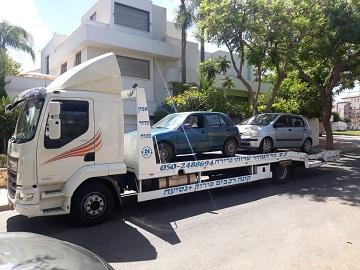 מגרש פירוק מכוניות בתל אביב