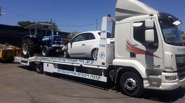 מגרש פירוק רכב בבאקה-ג'ת